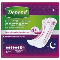 DEPEND Maximum inkontinenční vložky 7 kapek 6 kusů