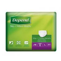 DEPEND Slip super plus inkontinenční kalhotky L 15 ks
