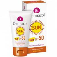 DERMACOL Sun WR Sun Cream SPF 50 Opalovací krém na obličej pro ženy 50 ml