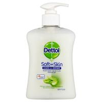 DETTOL Tekuté mýdlo Aloe Vera a vitamín E (250 ml)