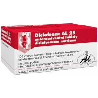 DICLOFENAC AL 25 TBL OBD 100X25MG