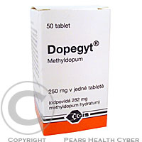 DOPEGYT  50X250MG Tablety