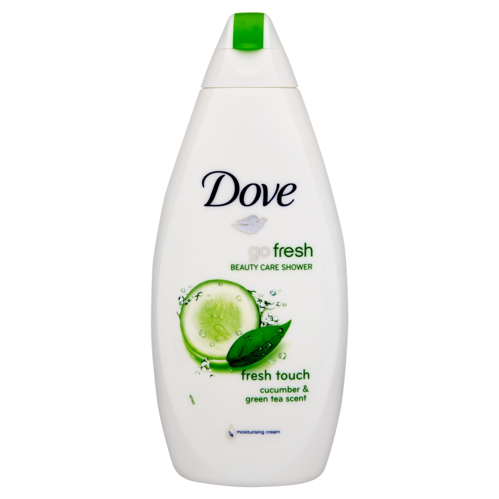 DOVE Go Fresh Okurka&Zelený čaj sprchový gel 500 ml
