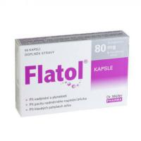 DR. MÜLLER Flatol 80 mg 50 kapslí