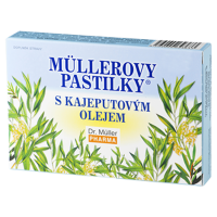 DR. MÜLLER Müllerovy pastilky s kajeputovým olejem 36 pastilek