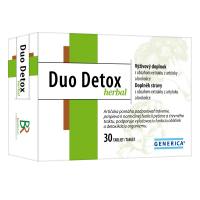 GENERICA Duo Detox herbal 30 tablet
