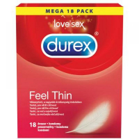 DUREX Feel Thin prezervativ 18 kusů