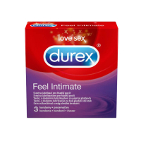 DUREX Feel Intimate Kondomy 3 kusy