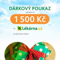 Elektronický dárkový poukaz pro Vaše milé 1500 Kč