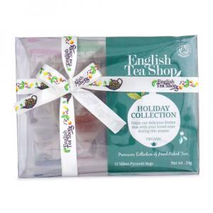 ENGLISH TEA SHOP Kolekce zelené ozdoby BIO 24g