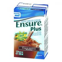 ENSURE Plus roztok s čokoládovou příchutí 220 ml