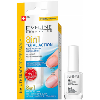 EVELINE Nail Therapy Total Action 8v1 12 ml
