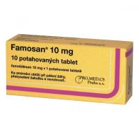 FAMOSAN 10 mg 10 Potahovaných tablet