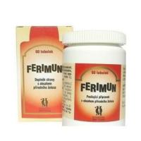 Ferimun tob. 60 s obsahem přírodního železa