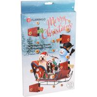 KARLIE FLAMINGO Adventní kalendář Munchy/RAW pamlsky pro psy