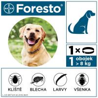 FORESTO Obojek pro psy nad 8 kg délka 70 cm