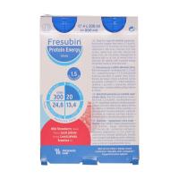 FRESUBIN Protein Energy Drink Lesní jahoda 4X200 ml
