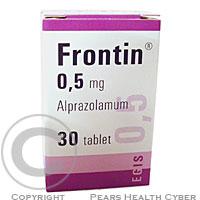 FRONTIN 0,5 MG TBL 30X0.5MG