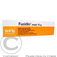 FUCIDIN UNG 1X15GM 2%