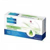 FYTOFONTANA Gyntima Probiotica vaginální čípky Forte 10 kusů