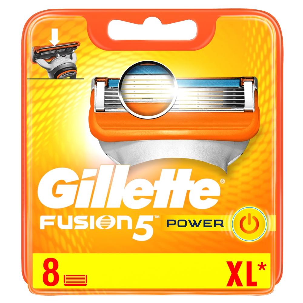 Gillette FUSION POWER náhradní hlavice 8ks