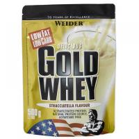 WEIDER Gold Whey syrovátkový protein Vanilka 500 g