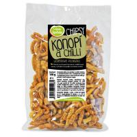 GREEN APOTHEKE Chipsy s konopným semínkem a chilli 100 g