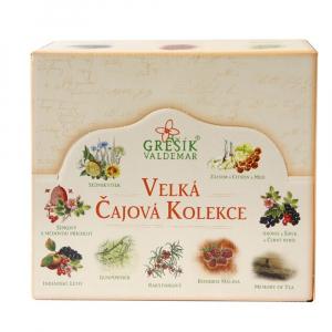 GREŠÍK Velká čajová kolekce 9x 10 nálevových sáčků