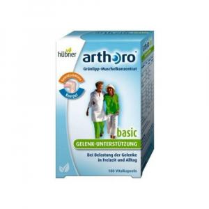 Arthoro - Grünlip Muschel konzentrat+Vitamin.180ks