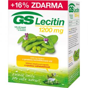 GS Lecitin 1200 mg 120+20 kapslí