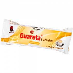 GUARETA Tyčinka s příchutí Kapučíno 44 g