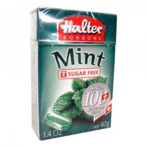 HALTER bonbóny Mint 40g