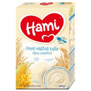 HAMI První kaše mléčná Rýžovo-kukuřičná 225 g