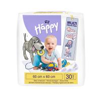 HAPPY Přebalovací podložky 60 x 60 cm 30 ks