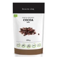 HEALTH LINK BIO RAW kakaové boby drcené 250 g