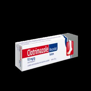 CLOTRIMAZOLE Recordati Krém 10 mg/g crm.1x20 g