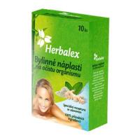 Herbalex bylinné detoxikační náplasti 10 ks + 2 ks zdarma