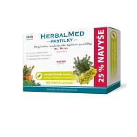 DR. WEISS HerbalMed pastilky Islandský lišejník + tymián + vitamín C 24+6 pastilek