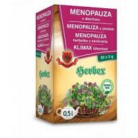 HERBEX Čaj Menopauza s jetelem 20 x 3 g