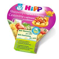 HiPP BIO Těstoviny s rajčaty a cuketou 250 g