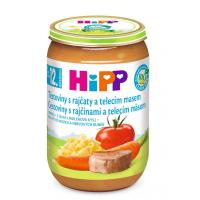 HiPP BIO Rajčata s těstovinami a telecím masem 220 g