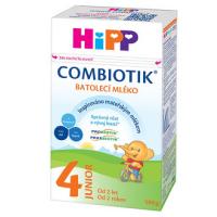 HiPP 4 JUNIOR Combiotik Pokračovací batolecí mléko od 2 let 500 g