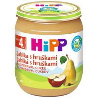 HIPP Jablka s hruškami BIO 125 g