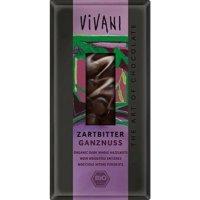 VIVANI bio čokoláda hořká s oříšky 100 g