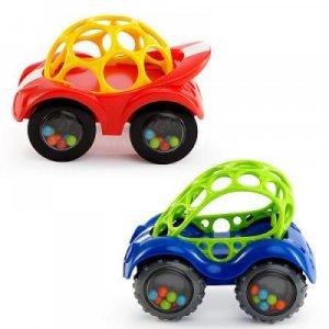 BRIGHT STARTS Oball hračka autíčko 3m+