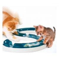 Hračka kočka Koulodráha s míčkem CAT IT plast 1ks