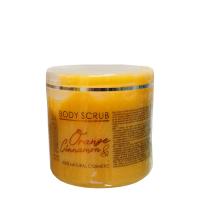 HRISTINA Přírodní tělový peeling Pomeranč a Skořice 500 ml