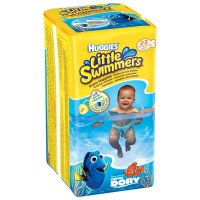 HUGGIES Little Swimmers 2-3 / 3-8kg 12 ks