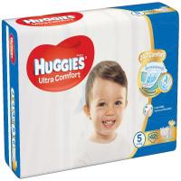 HUGGIES Ultra Comfort Jumbo vel.5 12-22kg 42 ks