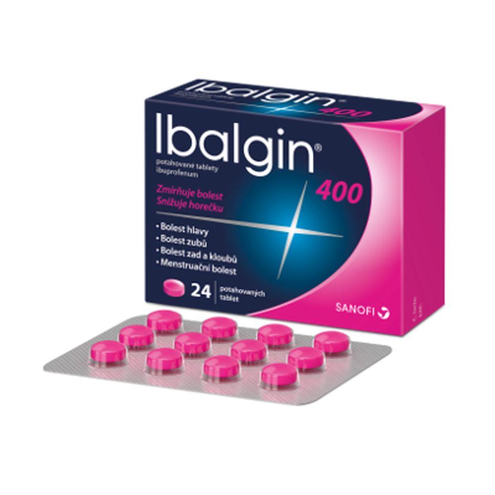 IBALGIN 400 mg 24 potahovaných tablet